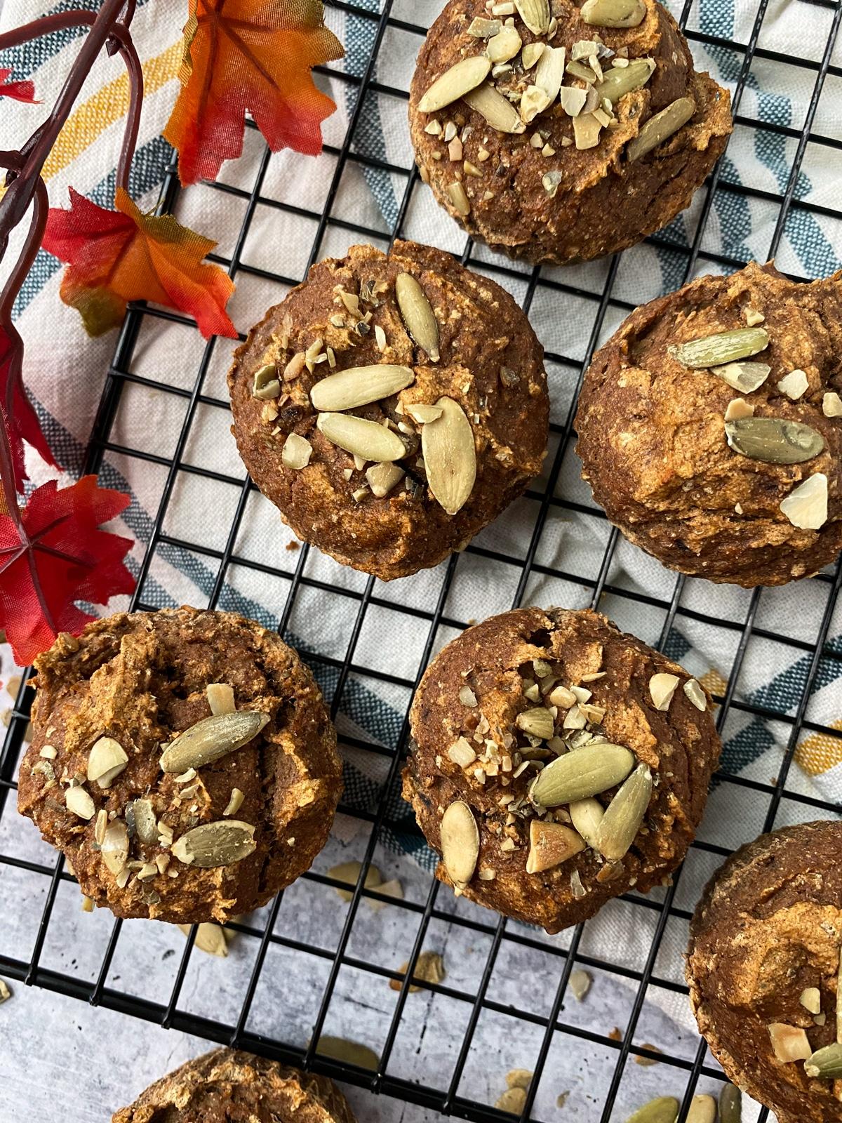 pumpkin-plantain-muffins