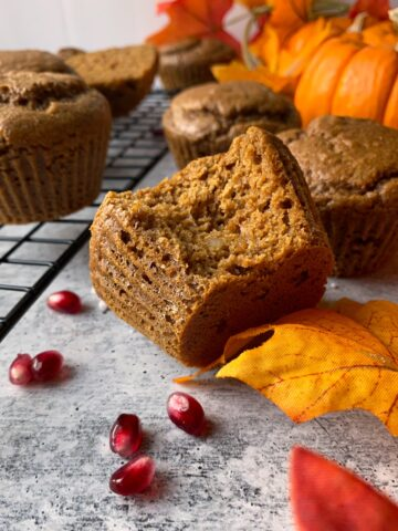 Paleo-Gingerbread-Muffins-with-Cassava-Flour