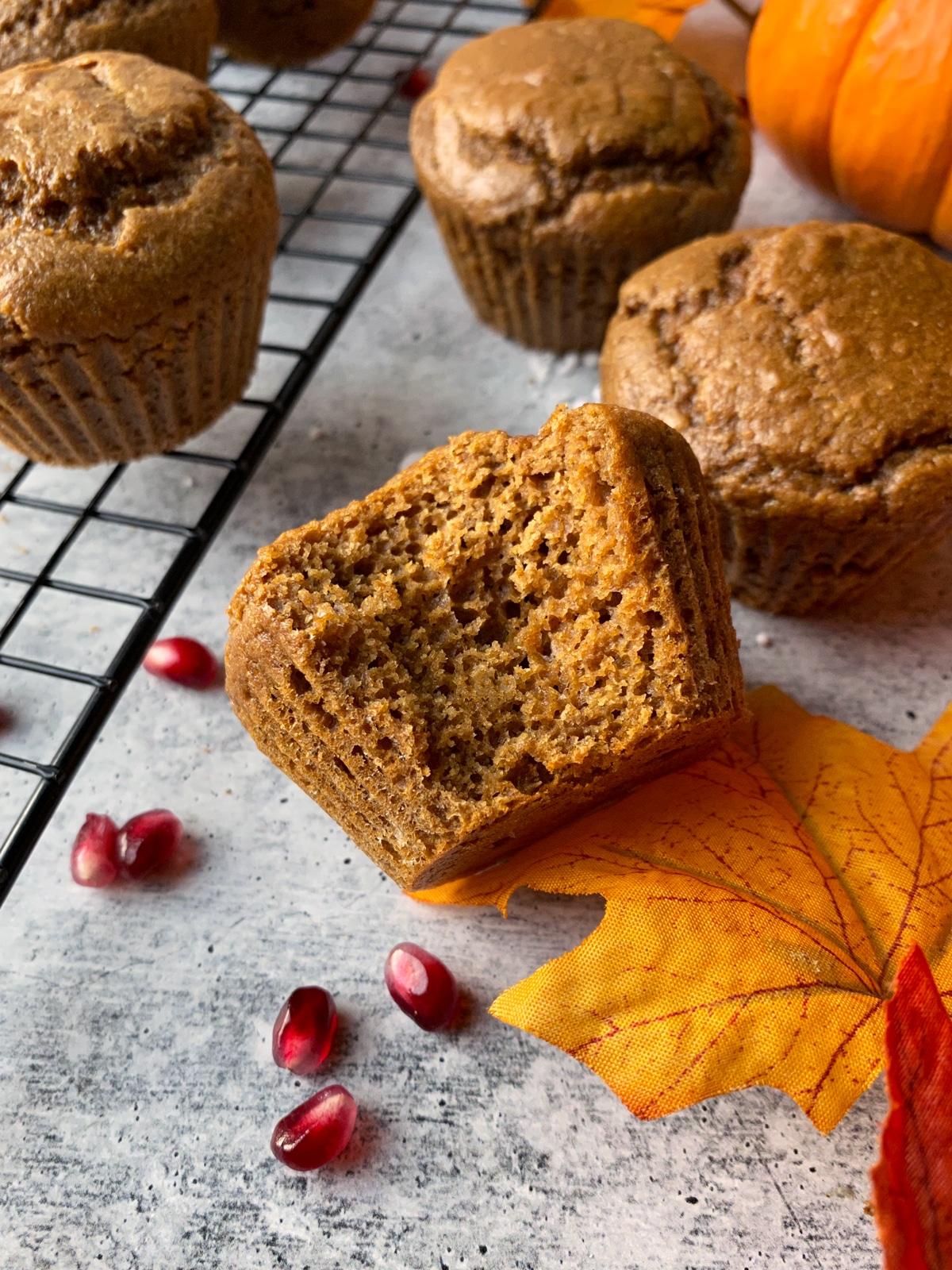 healthy-gingerbread-muffin-recipe