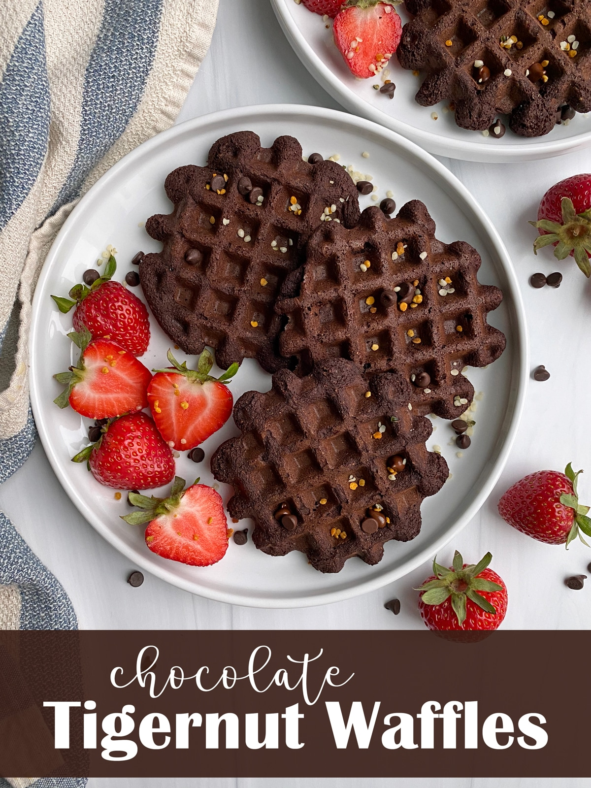 Chocolate-Tigernut-Flour-Waffles