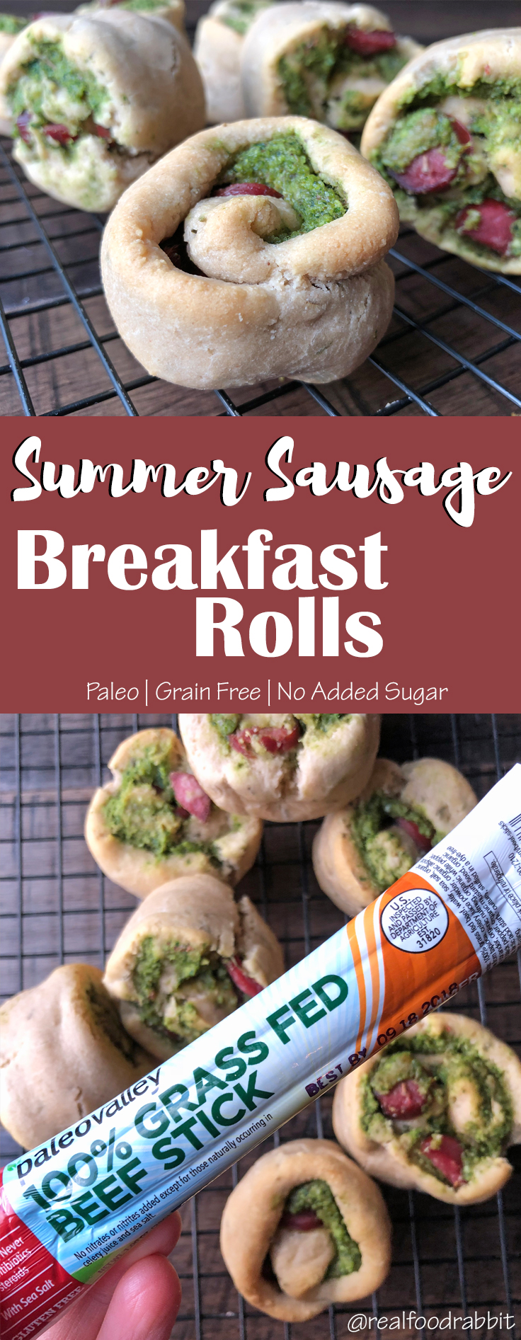 Summer Sausage Breakfast Rolls