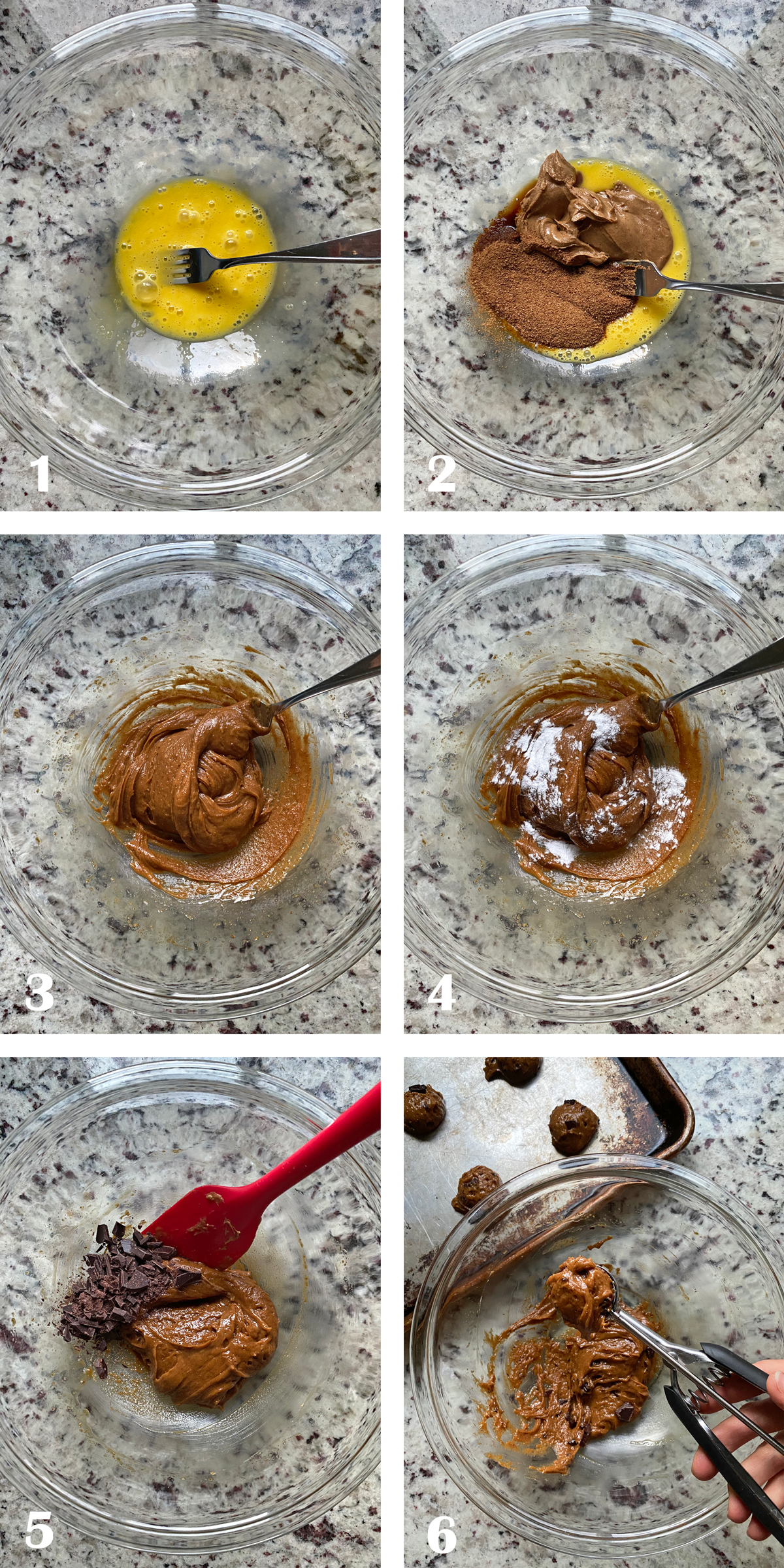 step-by-step-process-of-how-to-make-almond-butter-chocolate-chip-cookies