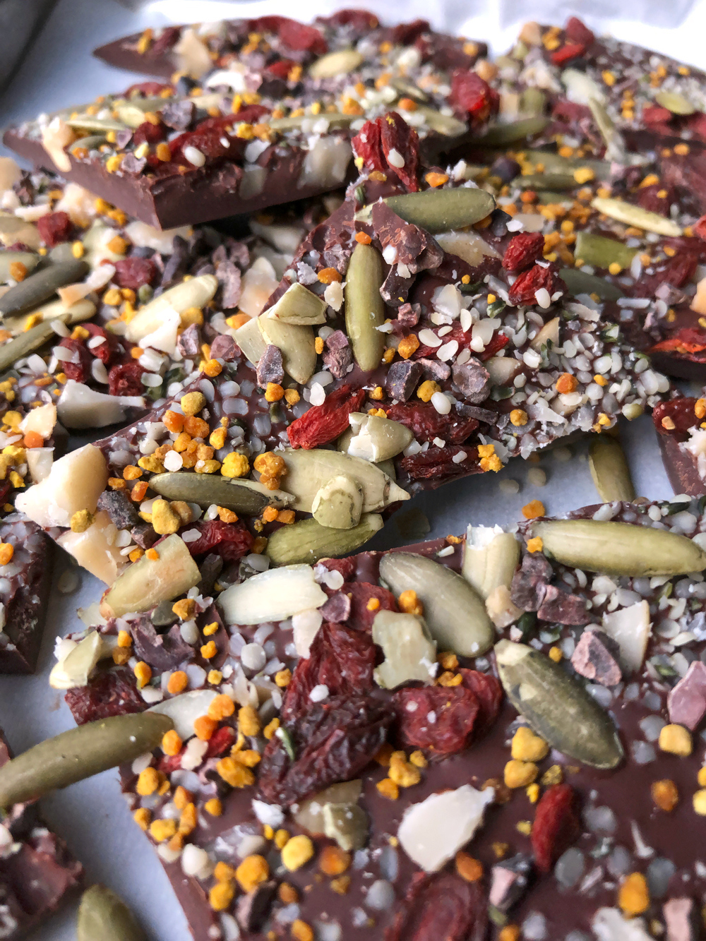 Dairy Free Keto Chocolate Bark
