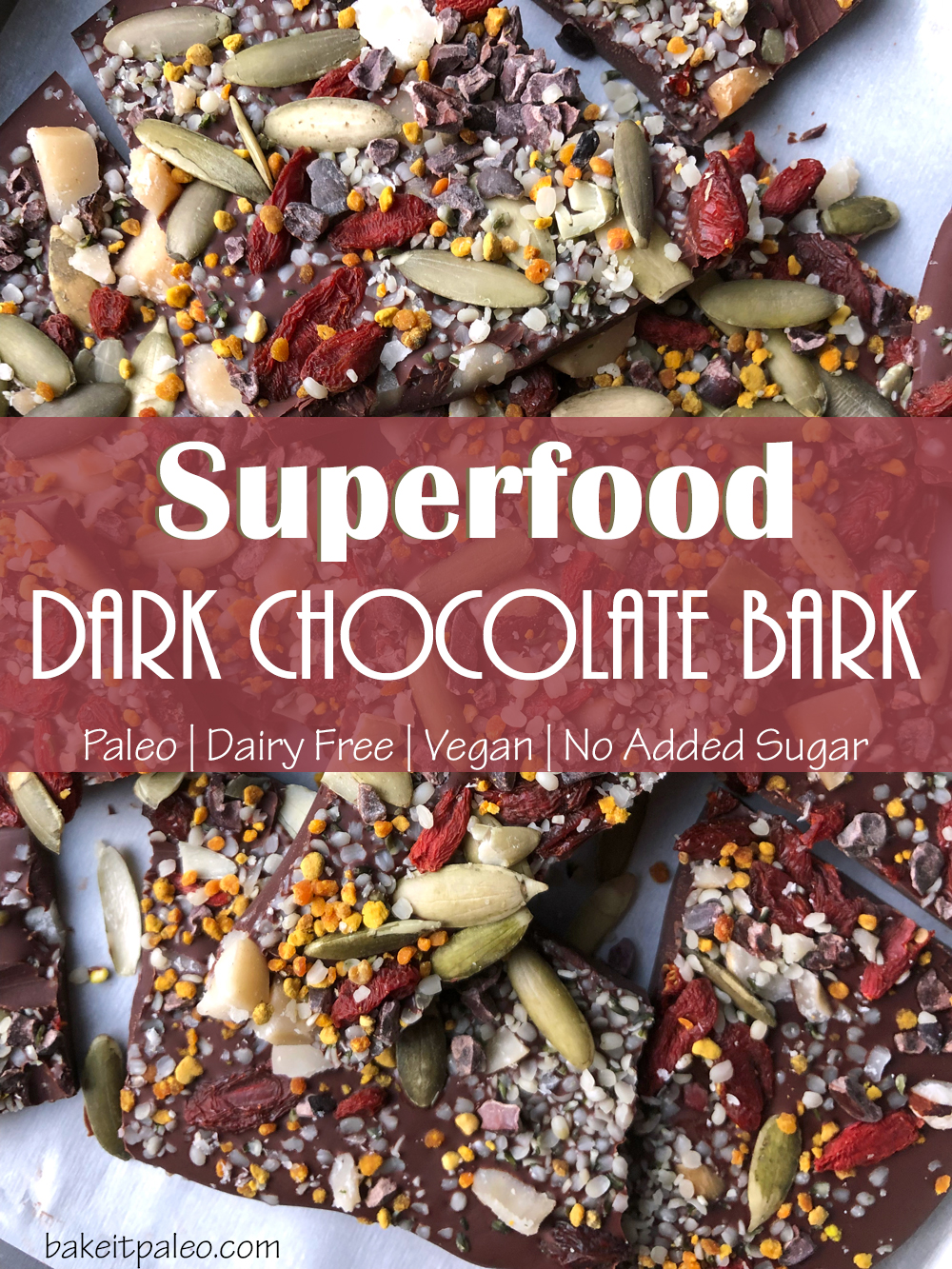 The Best Superfood Chocolate Bark Recipe
