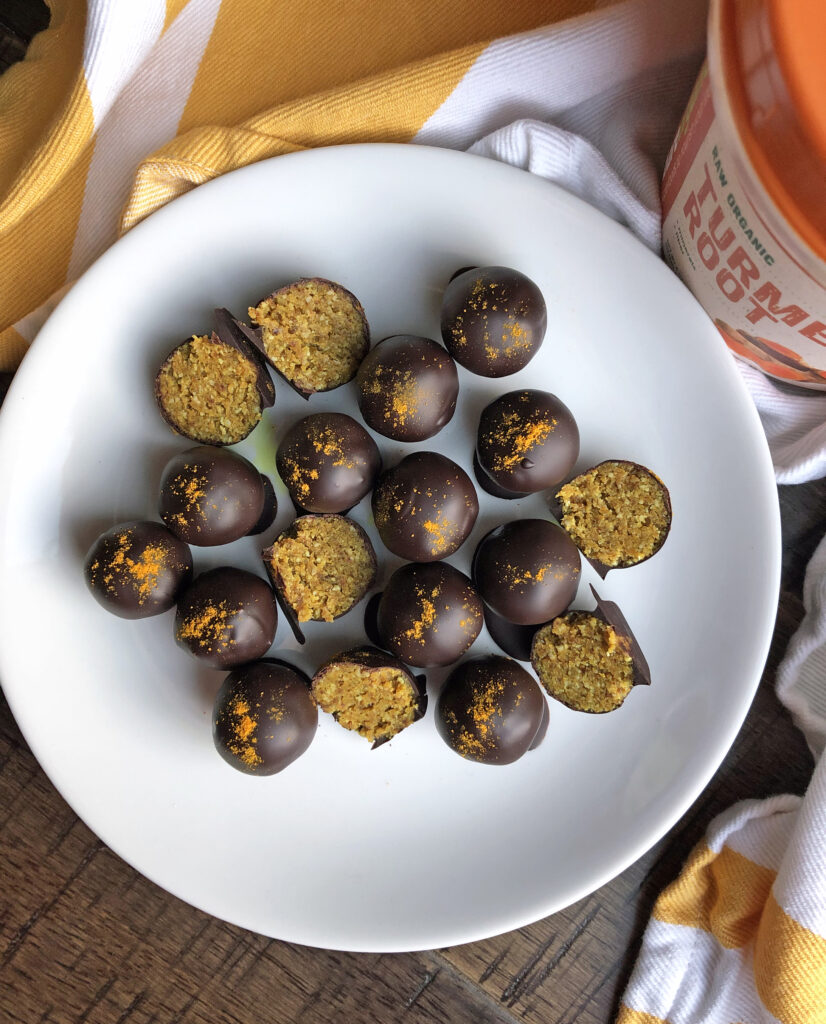 How to Make Turmeric Truffles