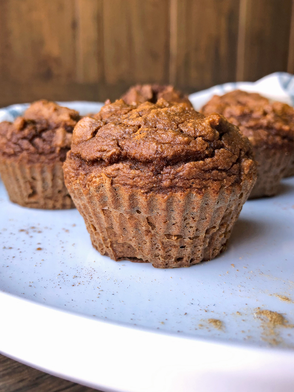 Paleo-Gingerbread-High-Protein-Muffins
