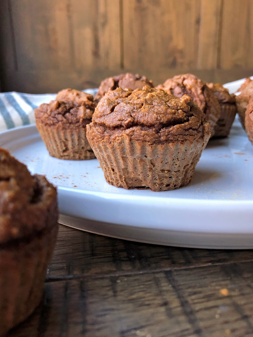 Pea-Protein-Gingerbread-Muffins