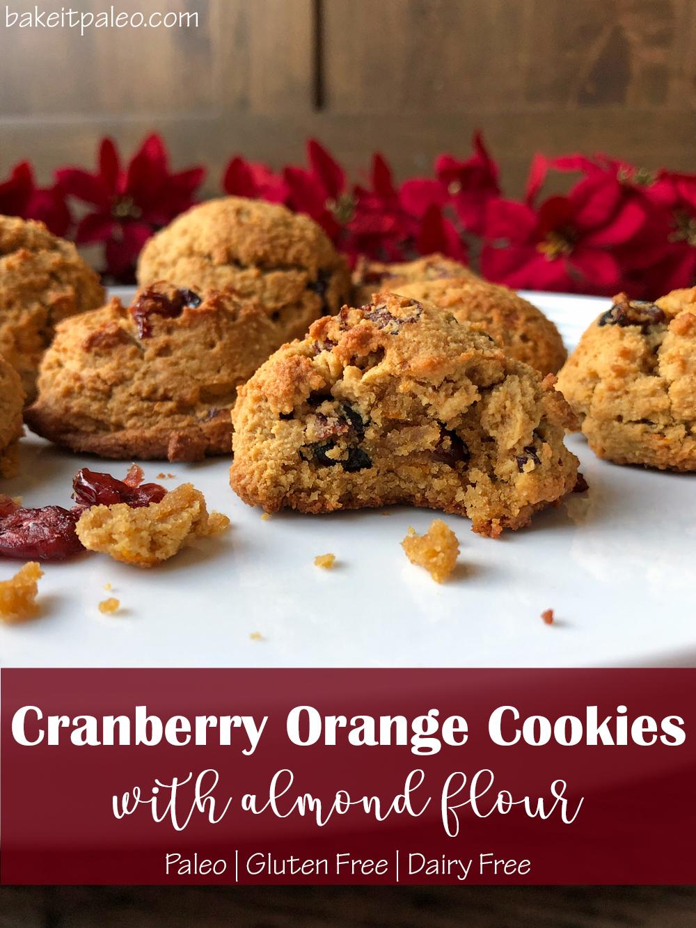 Paleo-Cranberry-Orange-Cookies-with-Almond-Flour