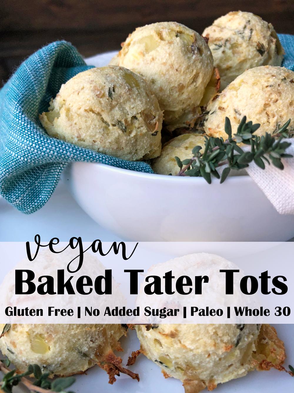 Vegan Baked Tater Tots Recipe