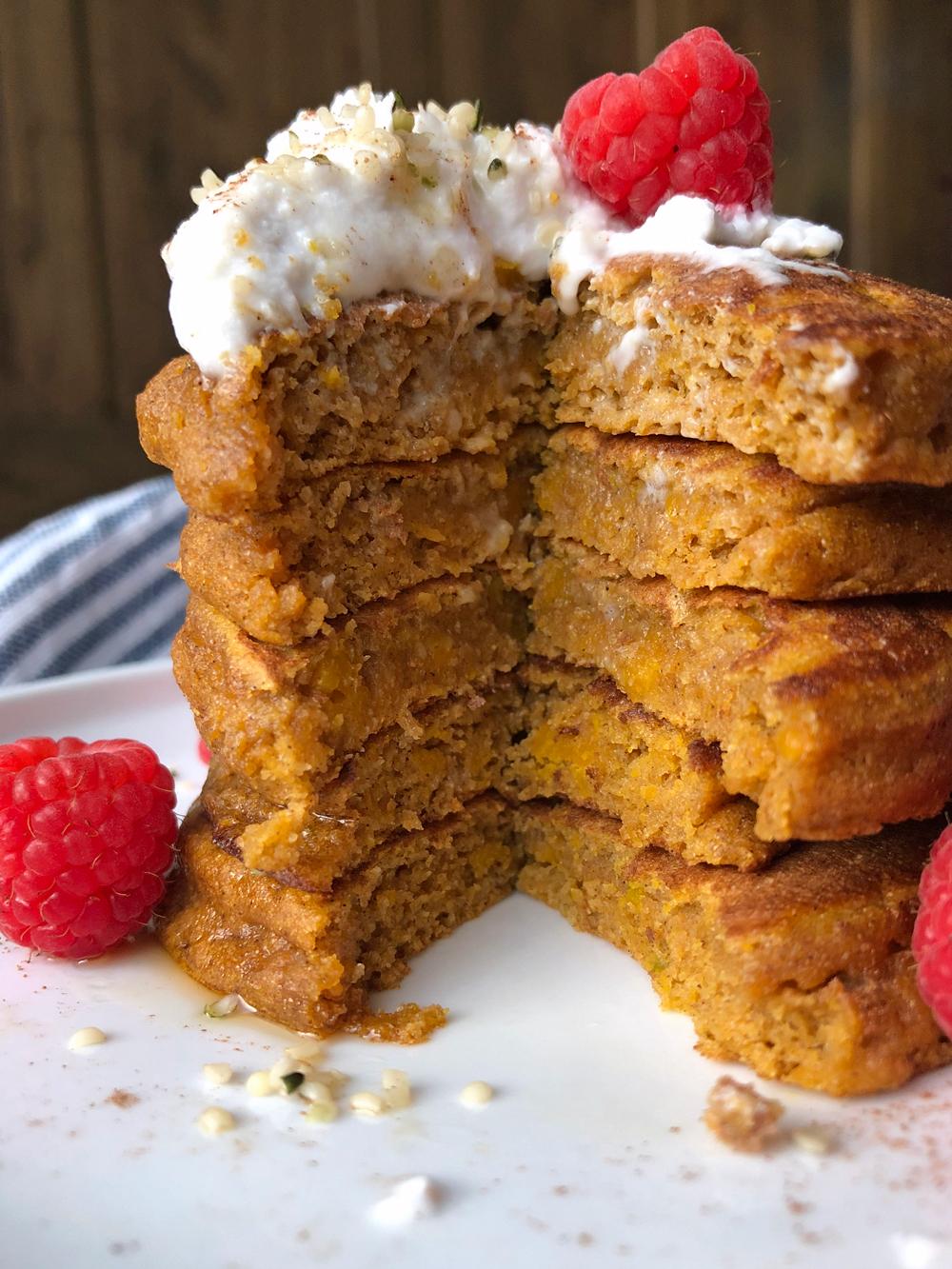 moist-squash-pancakes