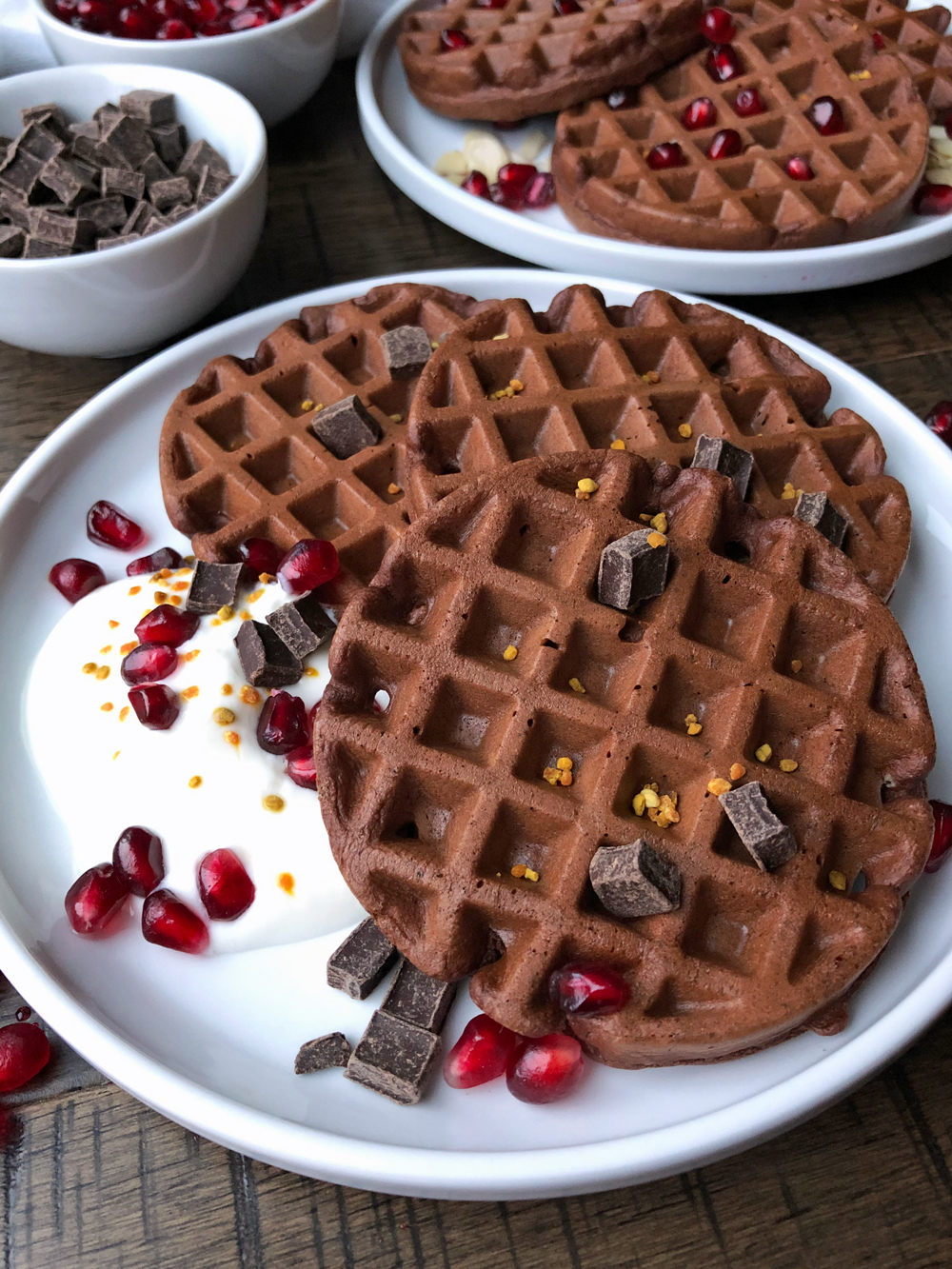Paleo-chocolate-protein-waffles