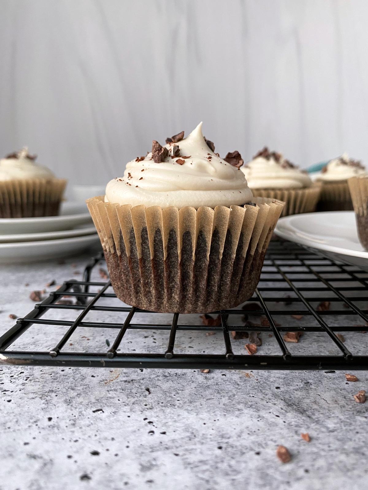 Paleo-almond-flour-chocolate-cupcakes