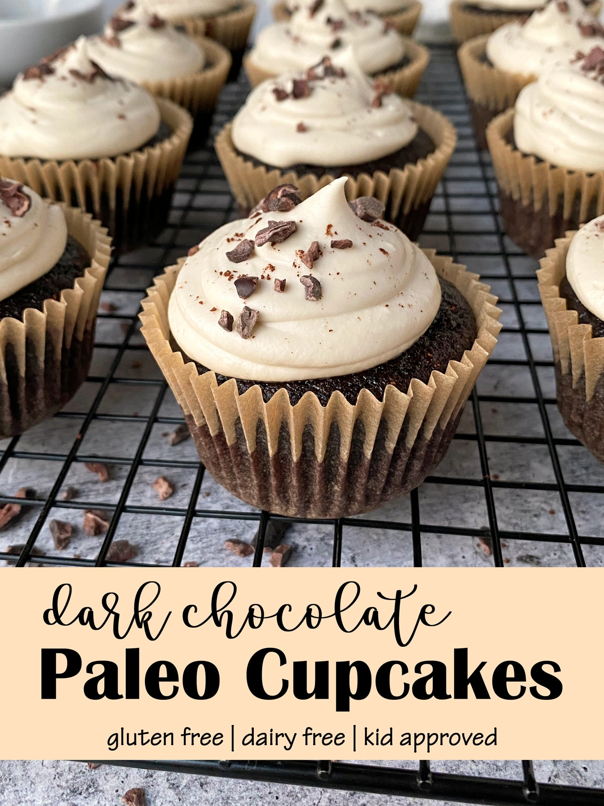 dark-chocolate-paleo-cupcakes