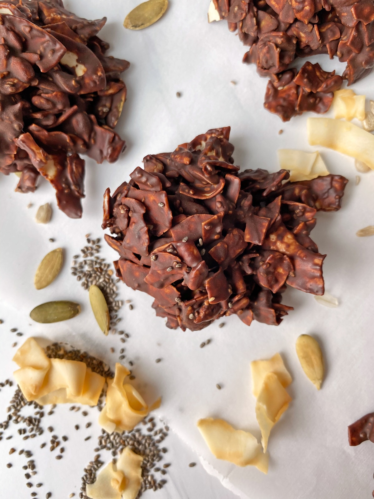homemade-chocolate-coconut-clusters