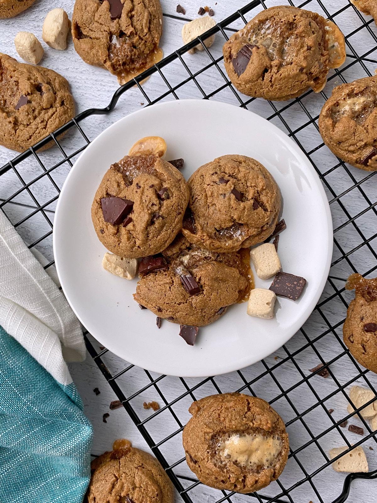 homemade-smores-cookies