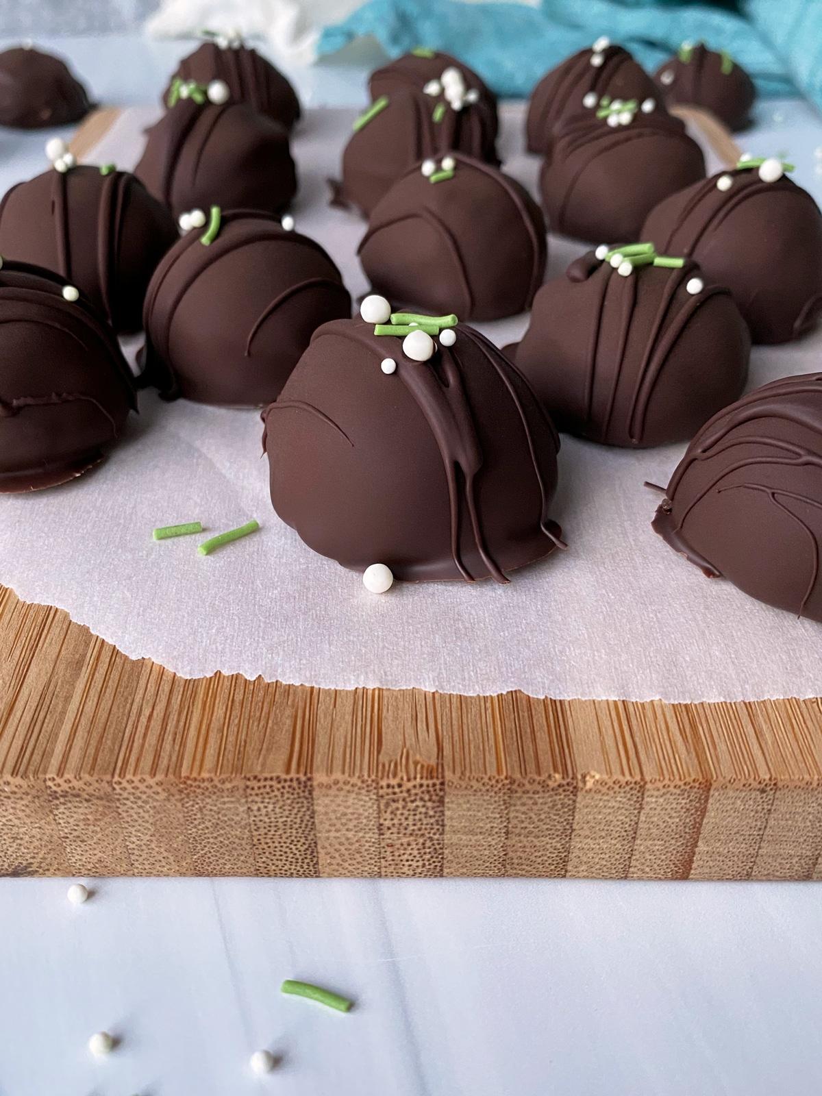 peppermint-truffles