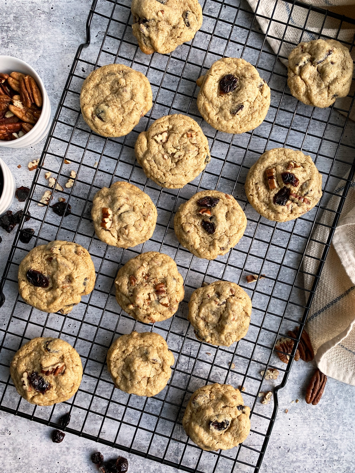 Paleo-Cranberry-Pecan-Cookies