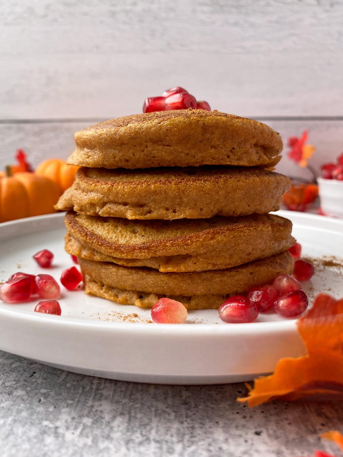 fluffy-cassava-flour-pumpkin-pancakes