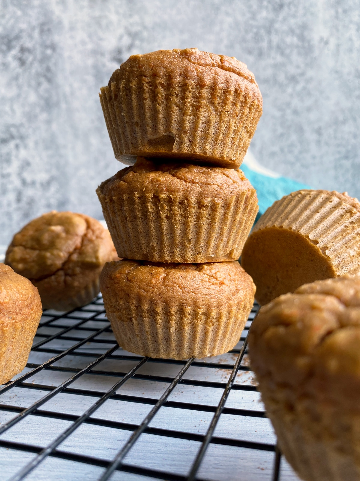 Paleo-Carrot-muffins-with-cassava-flour
