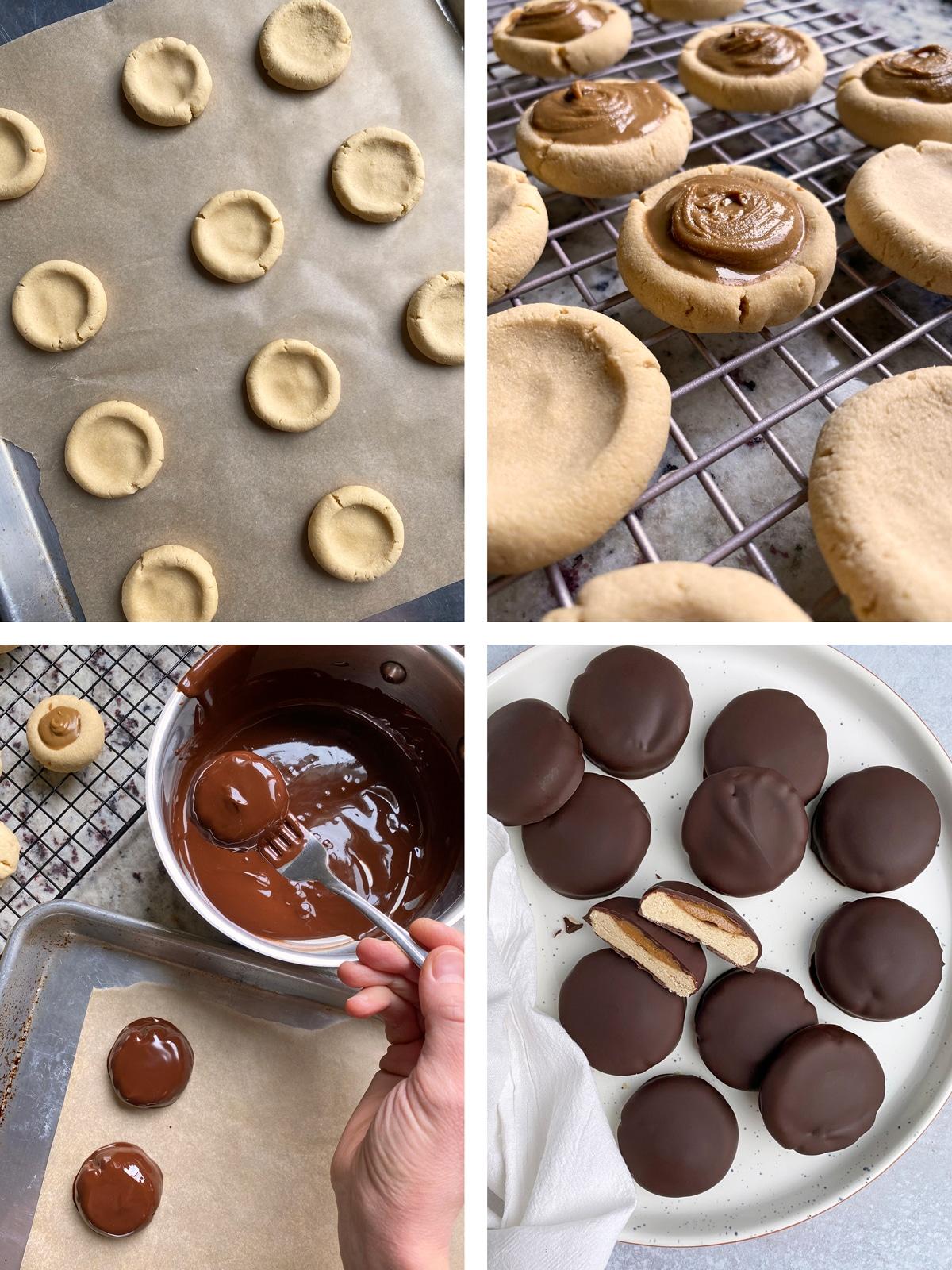 how to make paleo vegan tagalong cookies