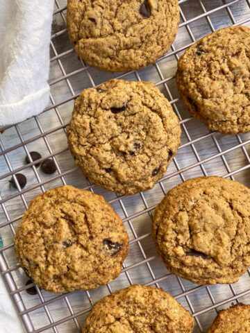 top-view-of-pea-protein-cookies