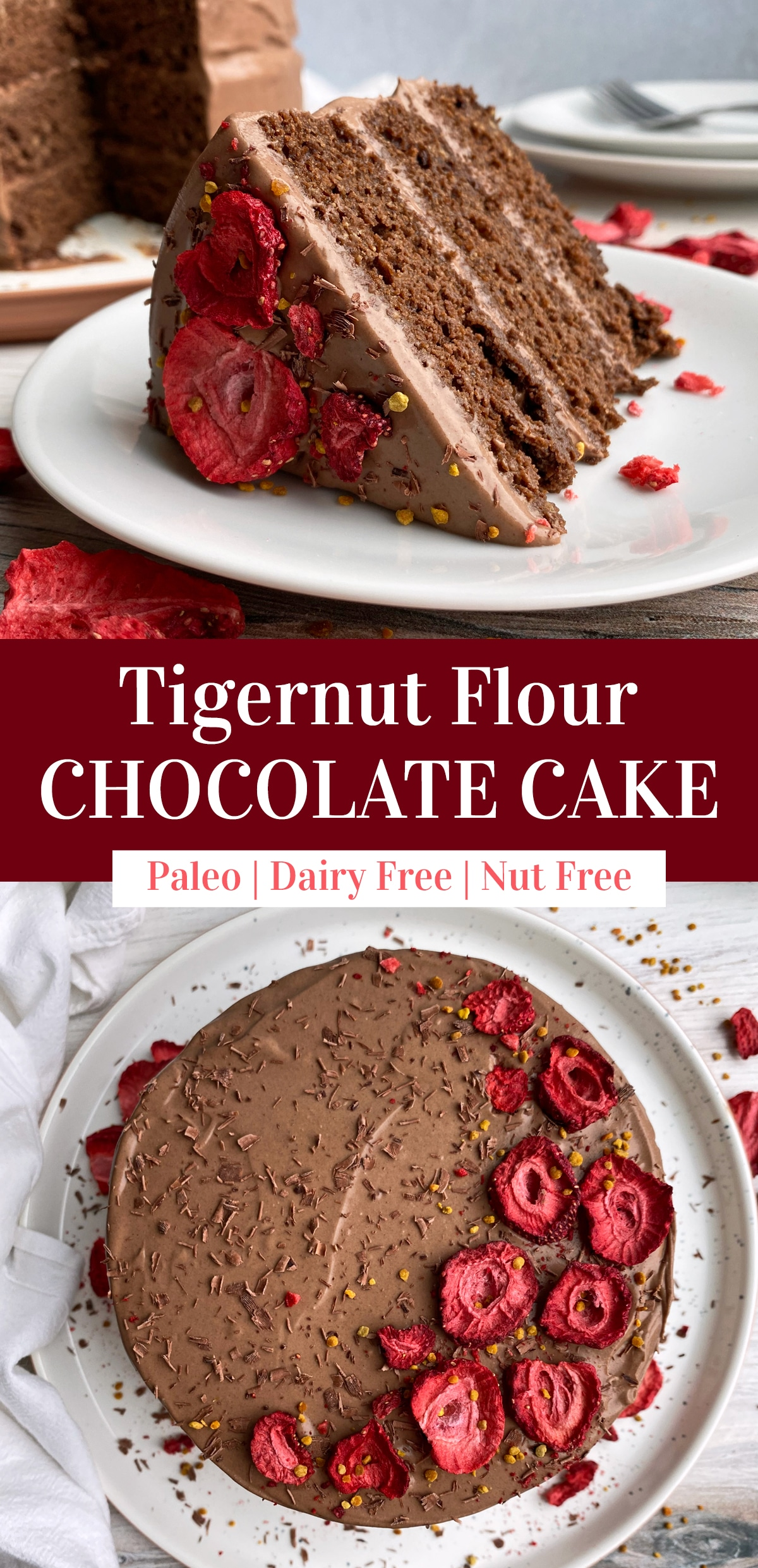 three-layer-tigernut-flour-chocolate-cake-recipe