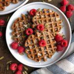 Cassava-Gingerbread-Waffles