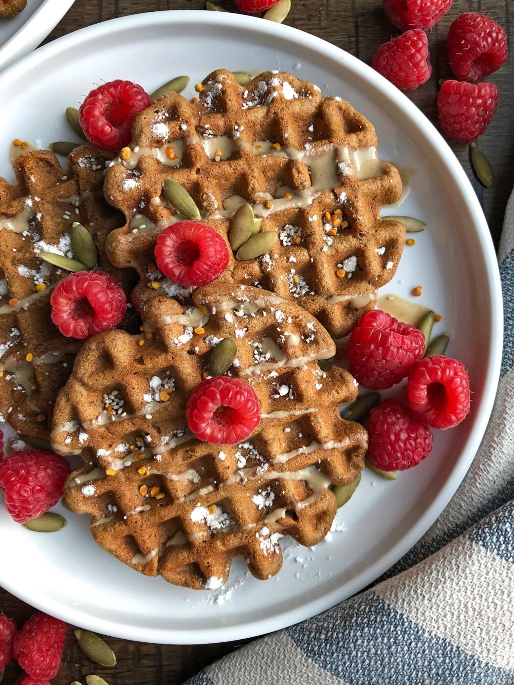 Gluten-Free-Vegan-Gingerbread-Waffles