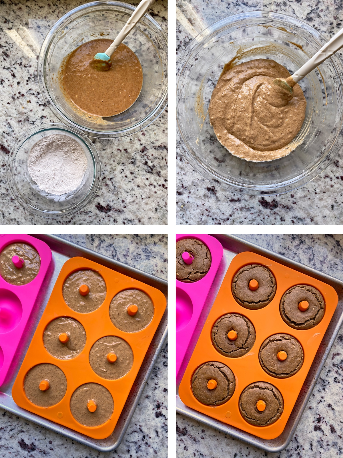 how to make banana donuts