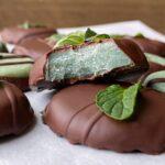 round-chocolate-mint-candy