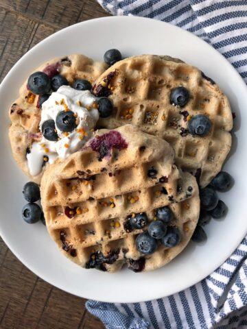 vegan-buckwheat-waffles