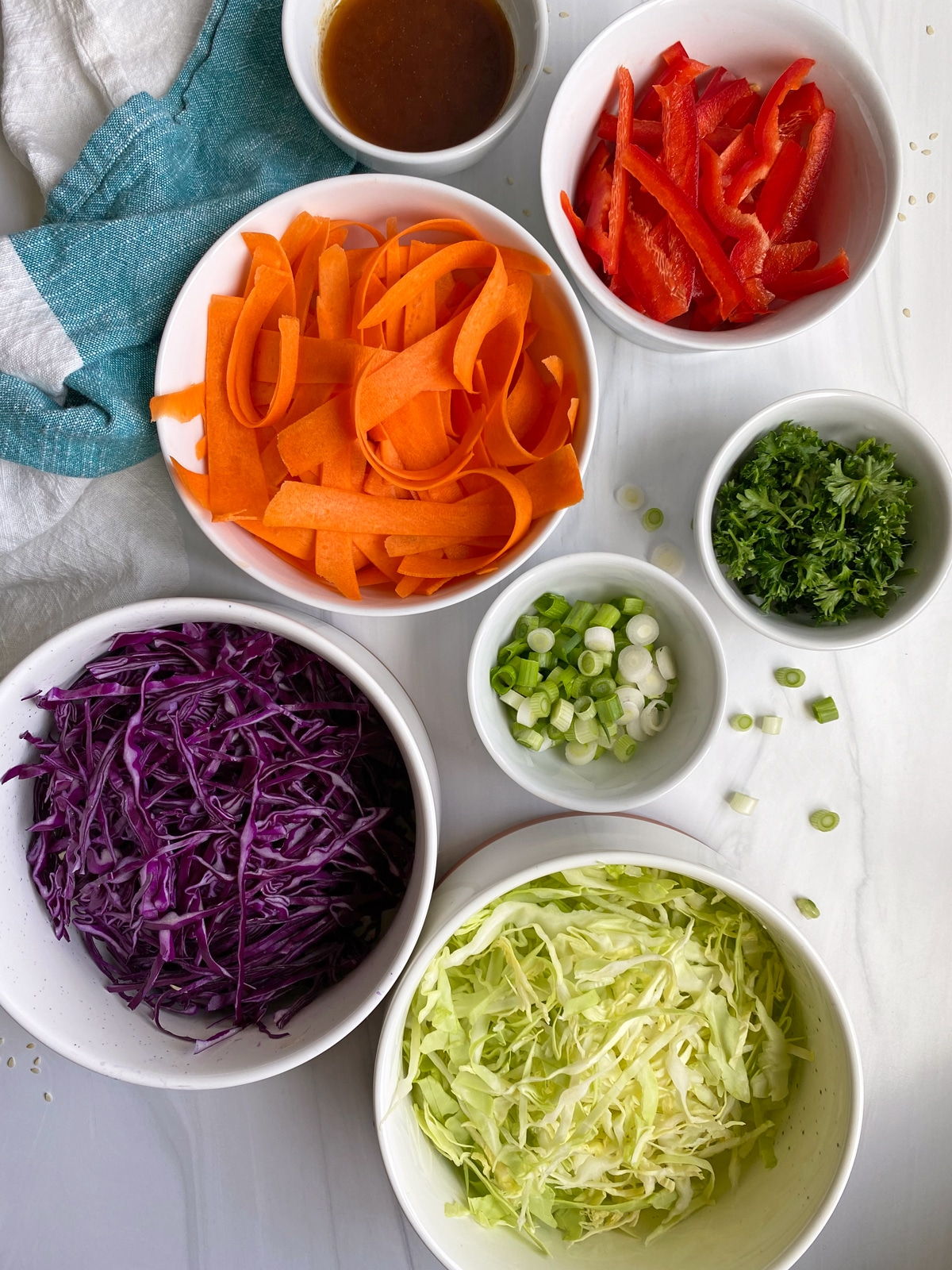 ingredients-in-Paleo-asian-slaw-salad