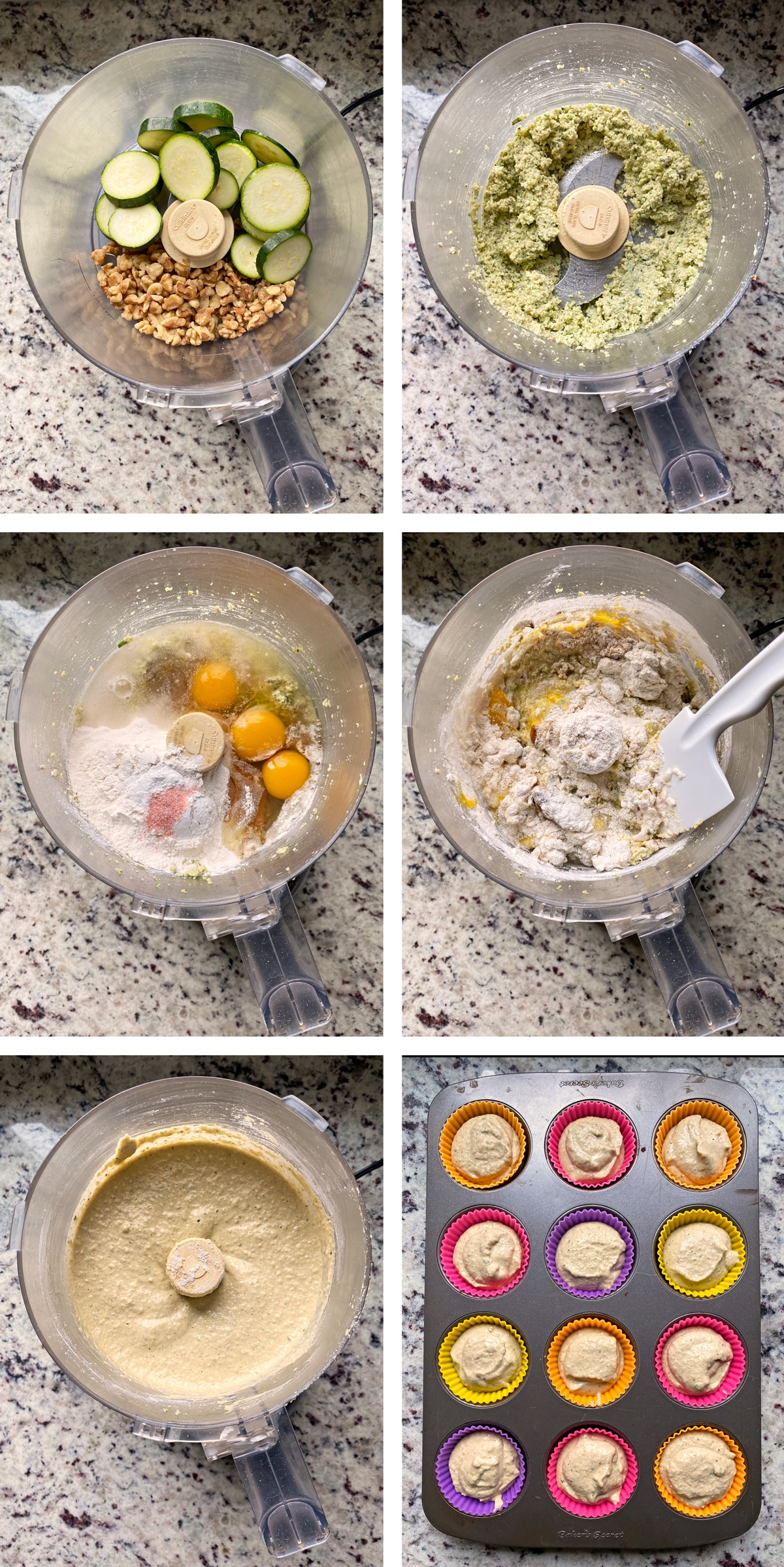 how to make the muffin batter