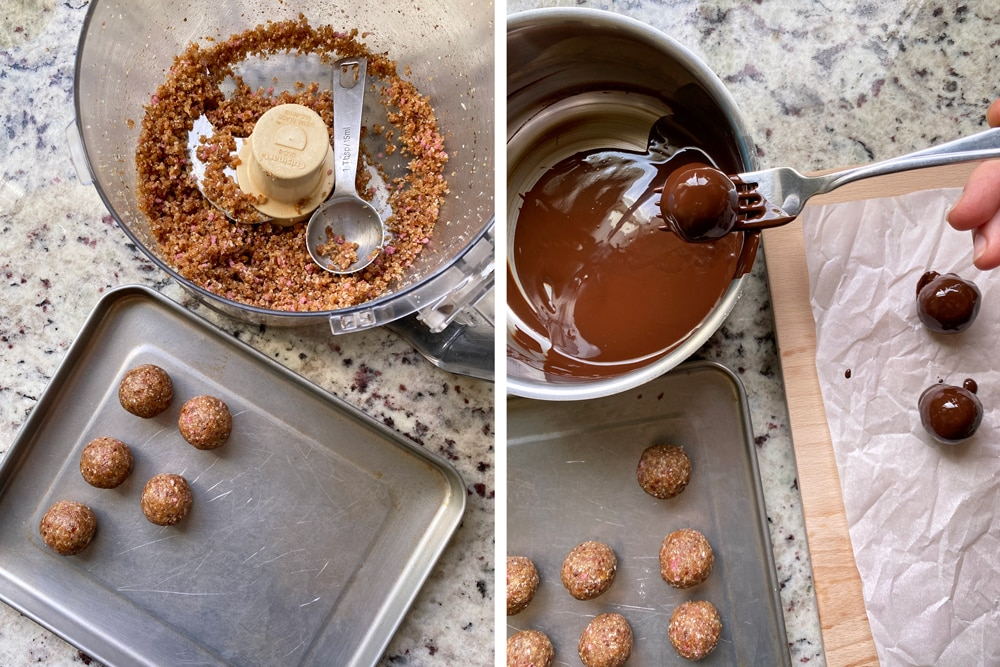 Rolling-the-balls-and-dipping-in-chocolate