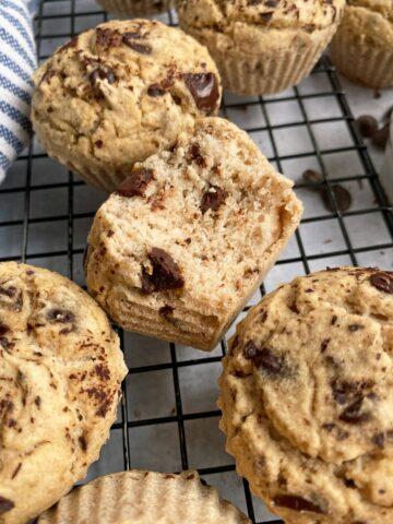 bit of buckwheat muffin