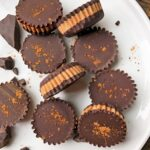 plate of coconut butter cups