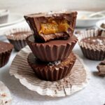 stack of peanut butter cups