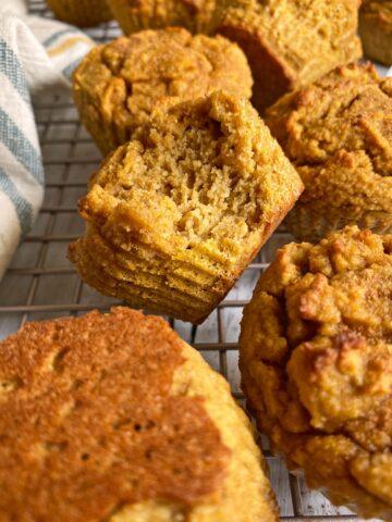 bit of paleo pumpkin muffin
